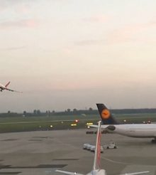 Air Berlin farewell fly-by
